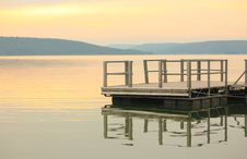 Free Lake Dock Royalty Free Stock Image - 14575336