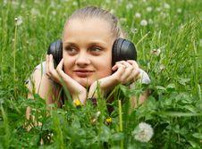 Free Girl On Meadow Stock Image - 14575761