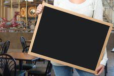 Free Add Text Blackboard Stock Photo - 14575770
