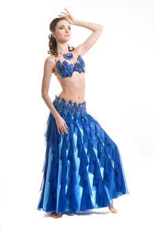 Free Beautiful Woman Dancing Stock Image - 14576181
