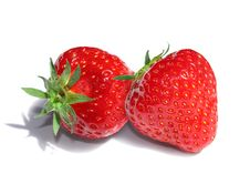 Free Two Strawberries Stock Photos - 14576423