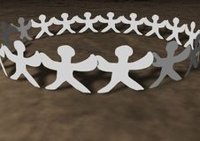 Free United People Chain Stock Image - 14576751