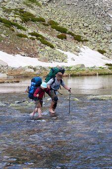 Free Hiker Royalty Free Stock Photos - 14576768