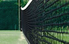 Free Tennis Net Royalty Free Stock Photo - 14577135