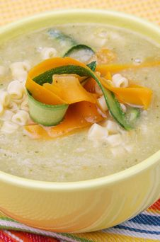 Free Cream Vegetable Soup Stock Photography - 14577232
