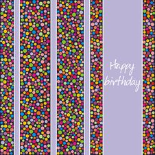 Free Postcard On Birthday Royalty Free Stock Images - 14577349