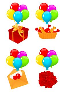 Free Present Icons Stock Photography - 14578222