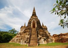 Ayudhaya Temple Royalty Free Stock Images