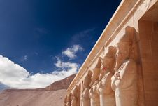 Free Stone Statues In Egyptian Temple Stock Photo - 14578840
