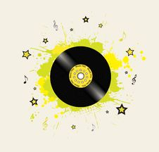 Free Music Background Royalty Free Stock Photography - 14578957