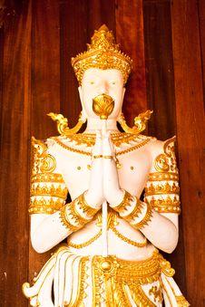 Free The Figure Of Deva Royalty Free Stock Image - 14579706