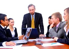 Businessteam In Office Stock Images