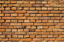 Free Old Brick Wall Royalty Free Stock Image - 14579796
