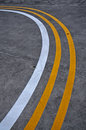 Free Yellow And White Lines Stock Images - 14585014