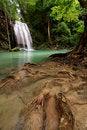 Free Erawan Waterfall, Thailand Stock Photography - 14588112