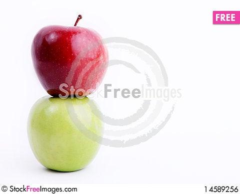 Free Apple Royalty Free Stock Image - 14589256