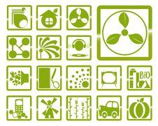 Free Logo Green Royalty Free Stock Photos - 14580298