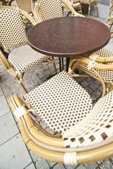 Free Table For Terrace Royalty Free Stock Photo - 14580305