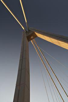 Vranov Bridge Royalty Free Stock Photography