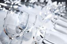 Free Glass Goblets Royalty Free Stock Photo - 14581345