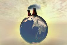 Free Globe Illustration 3d Royalty Free Stock Images - 14581409