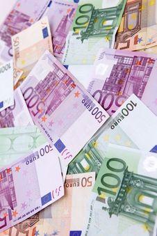 Free Full Of Euro Banknotes Royalty Free Stock Image - 14582006