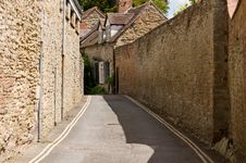 Free Between The Stone Walls Stock Image - 14582121
