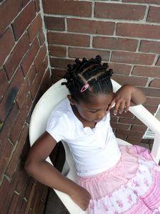 Free Haitian Girl Stock Image - 14582491
