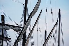 Free Ship Rigging Royalty Free Stock Images - 14583139