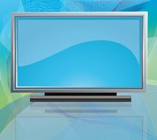 Free Flat Screen Tv Stock Photography - 14583542