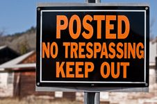 Free Keep Out Stock Photos - 14583613