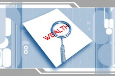 Free Wealth Letter And Lance Royalty Free Stock Photos - 14583788