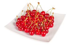 Free Fresh Ripe Cherry Royalty Free Stock Photography - 14583897
