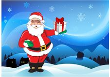 Free Christmas Santa Claus Background Stock Images - 14584234