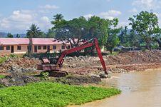 Free Excavator Digging Stock Photos - 14584763