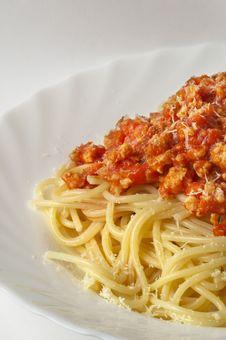 Free Spaghetti A La Bolognese Stock Photography - 14585202