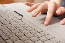 Free Laptop Work Stock Image - 14585301