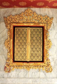 Free Windows In Temple Thailand Royalty Free Stock Photos - 14585708