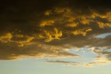 Dramatic Storm Clouds Royalty Free Stock Photography