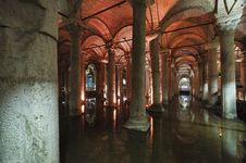Free Turkey, Istanbul, The Basilica Cistern Royalty Free Stock Photo - 14587295