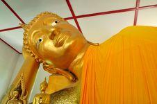 Free Recline Buddha Image Stock Photography - 14587552