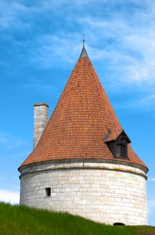 Free Kuressaare Castle Tower Royalty Free Stock Photography - 14587887