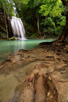 Free Erawan Waterfall, Thailand Stock Photography - 14588112