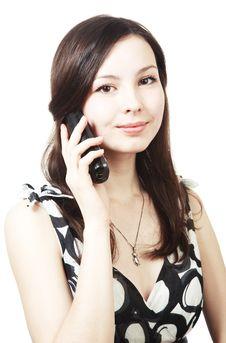 Free Girl On Phone Stock Photos - 14589023