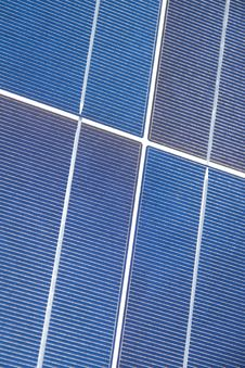 Solar Panel Closeup Royalty Free Stock Image