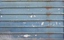 Free Old Blue Brass Wall Stock Photos - 14589343