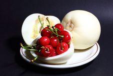 Free Muskmelon And Cherry Stock Photos - 14589673