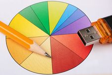 Free Circular Diagramme Stock Images - 14589844