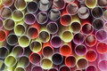 Free Background Of Coloured Drinking Straws Royalty Free Stock Images - 14590289