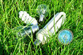 Free Light Bulbs In The Grass Royalty Free Stock Photo - 14591185